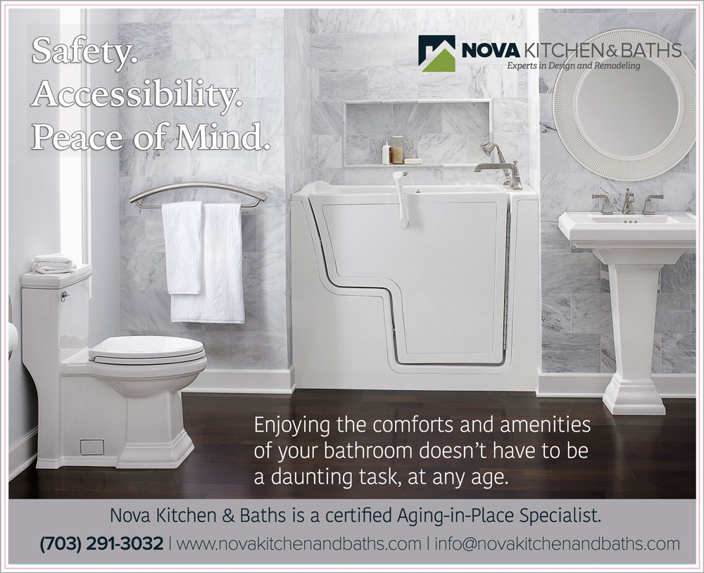 Nova Exteriors, Kitchen & Baths introduces Walk-in Tubs and ...