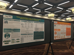 The presentation consisted of two posters: 1) Genetics and Drug Response: Study on the Influence of Genetics in Individual Variations in Response to Hydrocodone and 2) Genetics and Drug Response: Study on the Influence of Genetics in Individual Variations