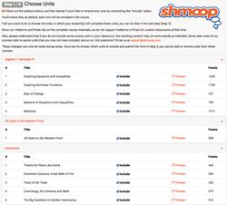 Shmoop Custom Classes