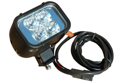 Colored LED Light Bar available in an optional Red, Blue, Green, Amber, or White