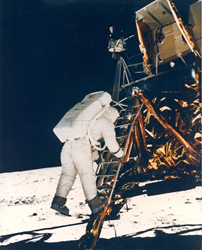 Apollo 11, Buzz Aldrin by Neil Armstrong