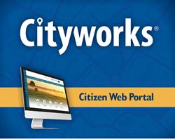Cityworks Citizen Web Portal