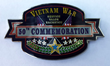 50th Commemoration of Vietnam Custom Pin