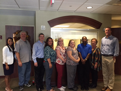 Aeroflow Healthcare welcomes Abbeville employees