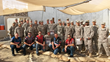 Summit Racing and Harley-Davidson Racers with American Personnel During 2013's Operation Appreciation