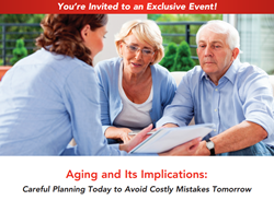 Home Care Assistance of Alamo to Host Educational Event, Aging and Its Implications: Careful Planning Today to Avoid Costly Mistakes Tomorrow