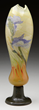 Galle Marquetry Vase From The Jackson Collection