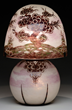Le Verre Francais Cameo Glass Bonsai Table Lamp
