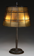 Tiffany Studios Linenfold Table Lamp From The Armstrong Collection
