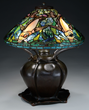 Tiffany Koi Fish Lamp