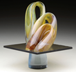 Harvey Littleton Glass Sculpture From The Jackson Collection