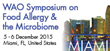 World Allergy Organization Symposium on Food Allergy and the Microbiome Begins Today