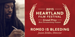 """Romeo is Bleeding"" - 2015 Heartland Film Festival $45,000 Grand Prize Winner for Best Documentary Feature"