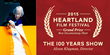 """The 100 Years Show"" - 2015 Heartland Film Festival $5,000 Grand Prize Winner for Best Documentary Short"