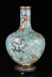 Chinese Cloisonne Bottle Vase