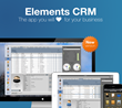 Elements CRM the app you will love for your business.