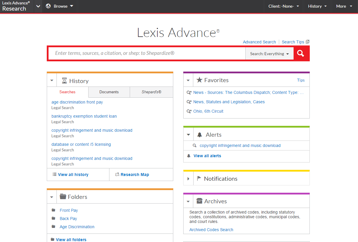 Lexisnexis Launches New Features And Resources For Lexis