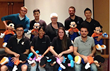 "Dr. Cherie Goble (center) of AlignLife of Lafayette, pictured with a few students from the Palmer College of Chiropractic and ""adjustable"" Mickey and Minnie Mouses."
