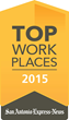 GlobalSCAPE, Inc. Number One Small Business in 2015 Top Workplaces Survey by San Antonio Express-News
