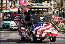 Palm Desert Golf Cart Parade