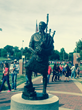 Big Statues Collaborates with Monmouth College to Create - Scots' Spirit