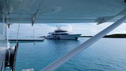 Tropic Ocean Airways yacht transfer in Exuma