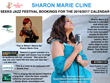 The Jazz Network Worldwide introduces internationally acclaimed Jazz artist, vocalist Sharon Marie Cline to worldwide jazz stages for the 2016/17 calendar.