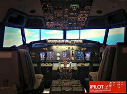 View of iPILOT London cockpit