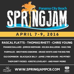 SpringJam Artist Lineup