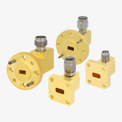 Waveguide to Coax Adapters Up to 65 GHz Released by Pasternack