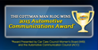 Cottman Man Blog Wins 2015 Automotive Communications Award