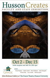 The show will run from October 2 – December 15, 2015.