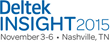 Deltek Announces Keynote Speakers and Sponsors for Its Insight 2015 Conference in Nashville, TN