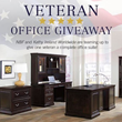 National Business Furniture Honors Veterans by Awarding Prizes to All Entrants in its Office Giveaway Contest with Kathy Ireland Worldwide.