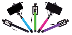Selfie On A Stick Wired Selfie Stick All Colors