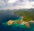 Aerial drone photo taken in Komodo, Indonesia, by Eric Cheng