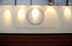 Mercedes-Benz Club will be exhibiting with a Prestige Exhibition Stand from Quadrant2Design