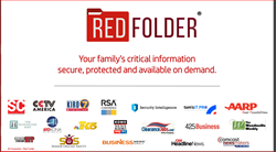 Red Folder - Your family's critical information secure, protected and available on demand.