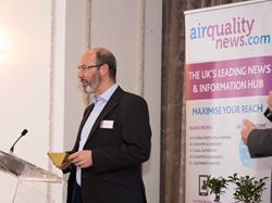 Neil O'Regan presents Shawcity's Air Quality Award