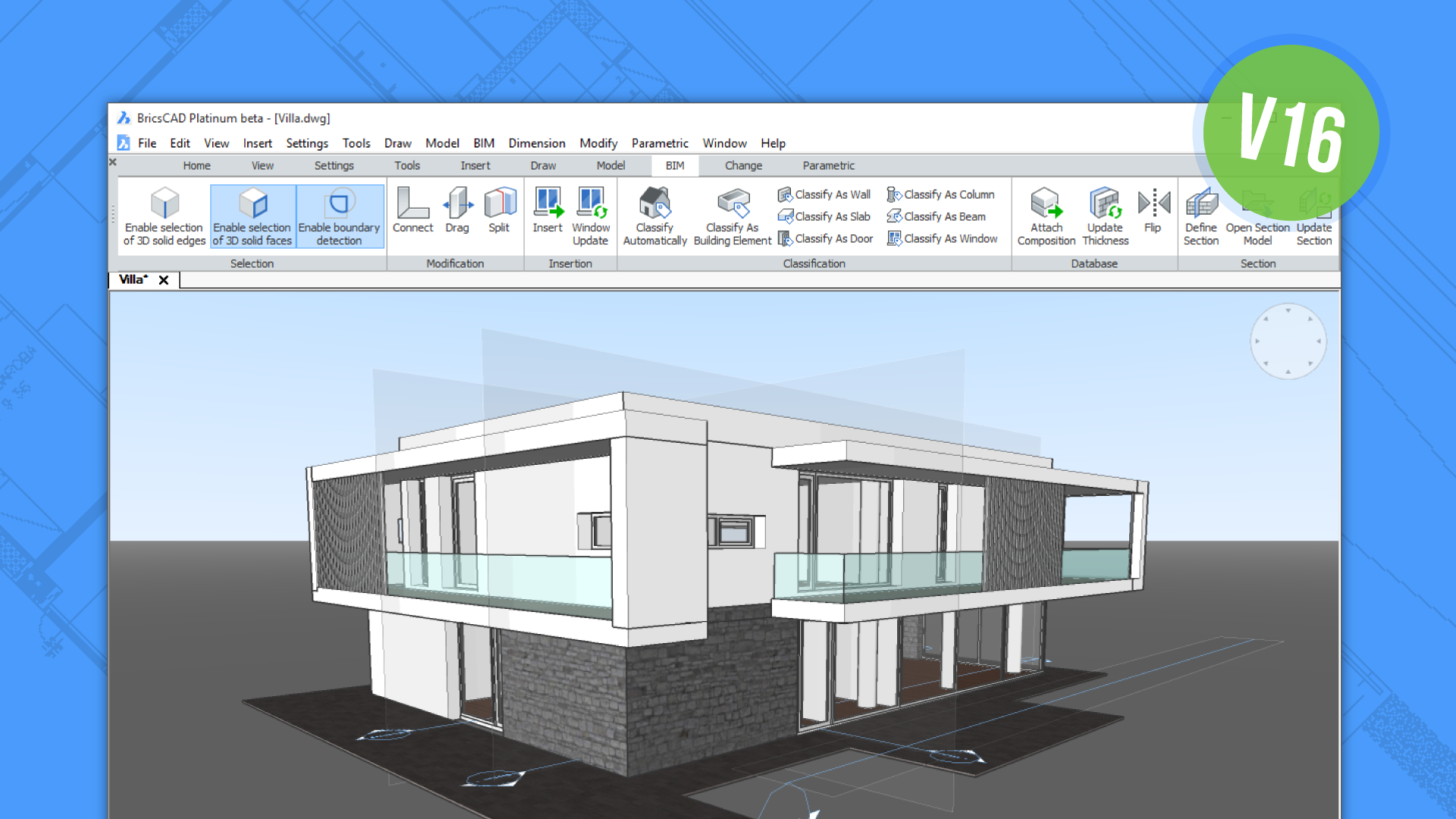 Bricscad V16 Is Now Available And Enhances Architectural