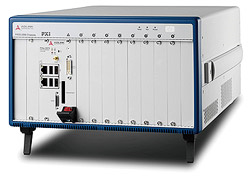 ADLINK's All-Hybrid 9-Slot 3U PXI Express Chassis with AC - Up to 7GB/s