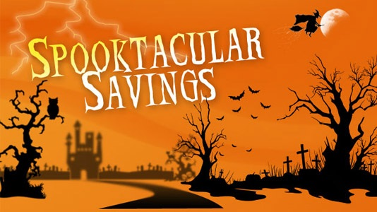 eyecareuniverse com is having a spooktacular sale on all