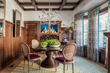 Julie Rootes of Julie Rootes Interiors Crafts a Dynamic Dining Room for the 2015 Traditional Home Napa Valley Showhouse