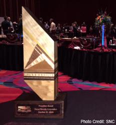 SNC awarded 2015 EDAWN Founders Award.
