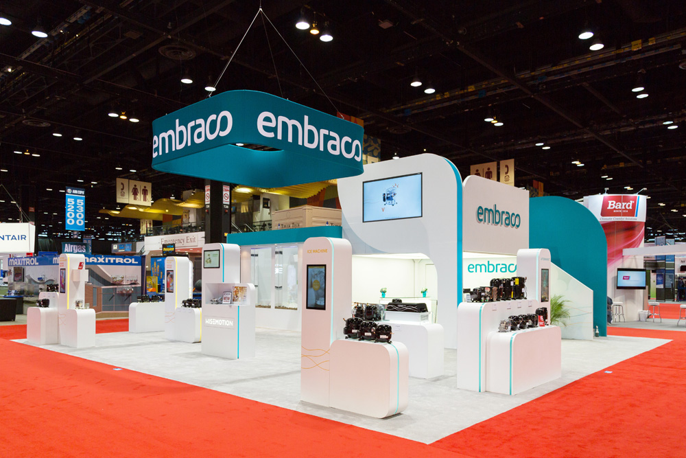 Trade Show Booth Orange County : Absolute exhibits assists the exhibitors at ahr expo