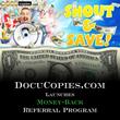 DocuCopies.com Announces Money-Back Referral Program