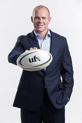 UFX Brand Ambassador, Mike Tindall