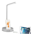 """Apple-certified """"Made for iPod,  iPhone and iPad"""" LED desk light"""
