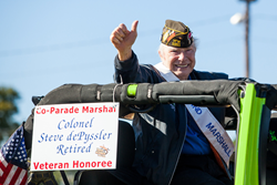 A photo of the 2014 Veterans Parade in Shreveport