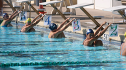 Rosarian-Academy,-PBDA,-and-All-Saints-swimmers-take-their-marks-in-the-pool